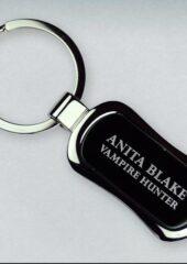 Anita Blake Metal Keychain